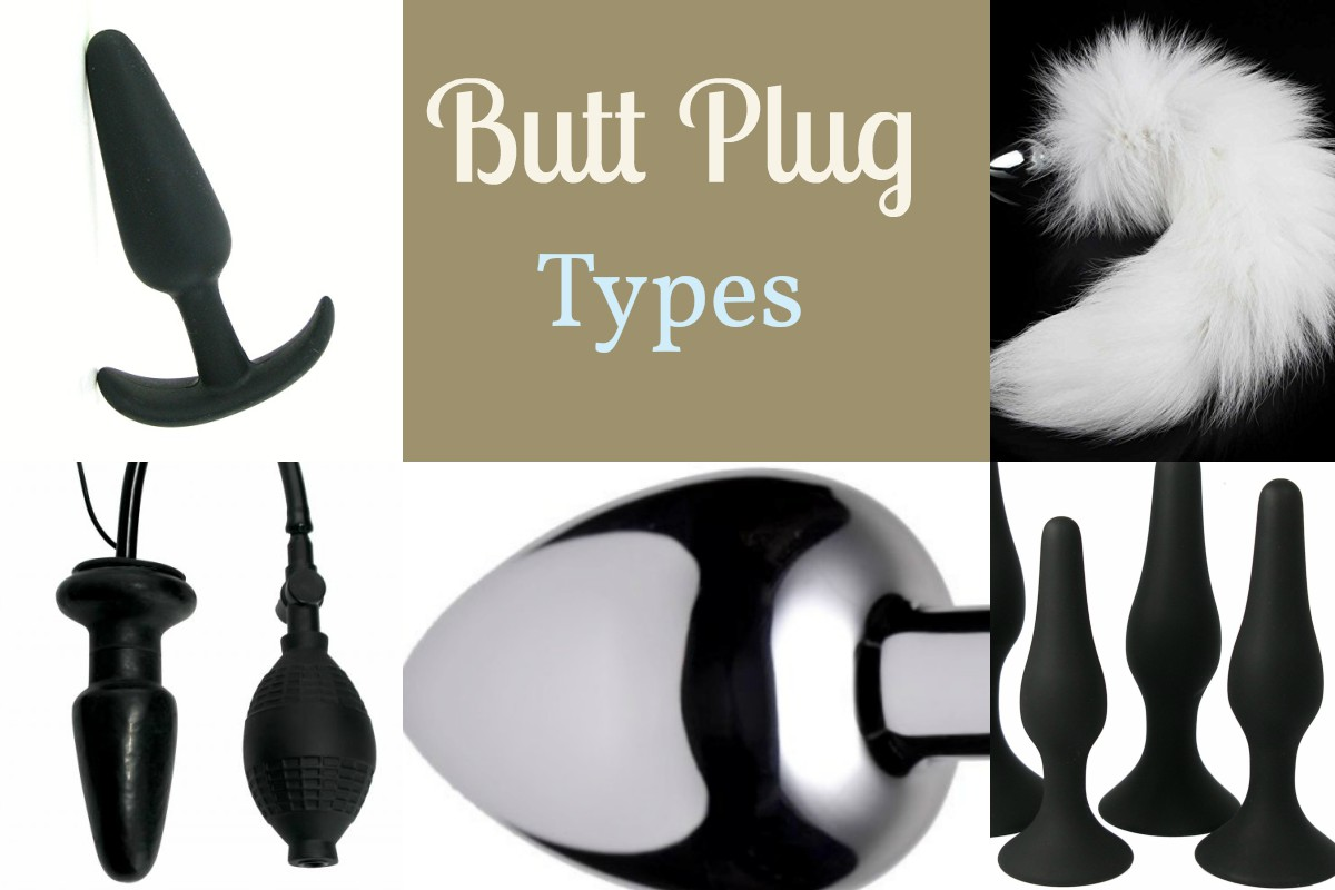 different types of material for anal plug